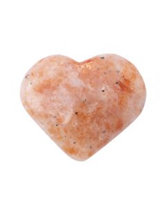 Sunstone Puff Heart 25-30mm (1pc) Nett