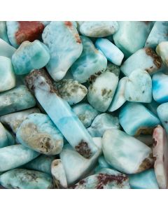 Larimar AA Gem Chips 10-20mm (50g) NETT