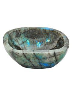 Labradorite Bowl, Madagascar (22.5 cm x 19.5 cm) (1pc)  Special