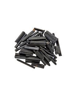 Black Tourmaline Needles up to 30mm (25g) NETT