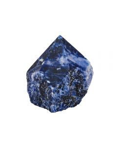 Sodalite Cut Base Polished Point Brazil (1pcs) NETT