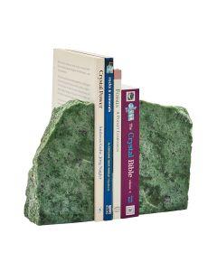 Brazilian Green Jasper Bookends (2-3kg) (Pair) NETT