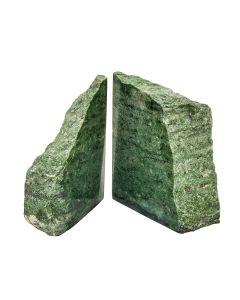 Brazilian Green Jasper Bookends (3-4kg) (Pair) NETT