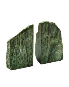 Brazililan Green Jasper Bookends (4-5kg) (Pair) NETT