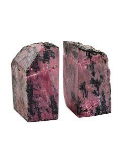 Rhodonite Bookends (2-3kg) (Pair) NETT