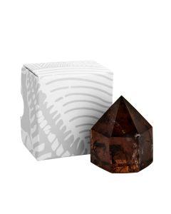 "Chunky Smokey Quartz A Grade Polished Point Small 2-3"" Gift Boxed (1pc) NETT"