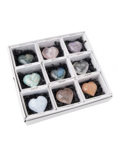 Assorted Madagascan Hearts in Gift Box (9pcs) NETT