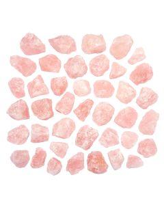Rose Quartz A Grade approx 6-8cm 500g/pc (Madagascar) (20kg) NETT