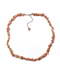 "18"" Chip Sunstone Necklace + Ext Chain (1 Piece) NETT"