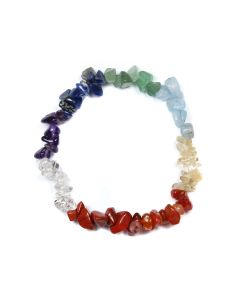 "7.5"" Chip Bracelet Chakra 8 Colour (1 Piece) NETT"