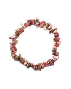 "7.5"" Chip Bracelet Rhodonite (1 Piece) NETT"
