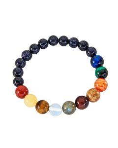 Solar System 8-10mm Bead Bracelet (1 piece) NETT