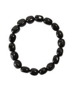 Nuumite (Chinese) Tumblestone Bracelet (1 Piece) NETT