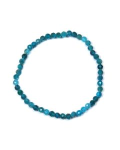 4mm Facet Bracelet Apatite (1 Piece) NETT