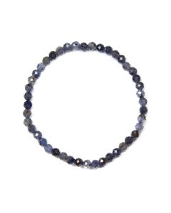 4mm Facet Bracelet Iolite (1 Piece) NETT