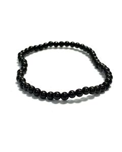 4mm Shungite Bead Bracelet (1pc) NETT