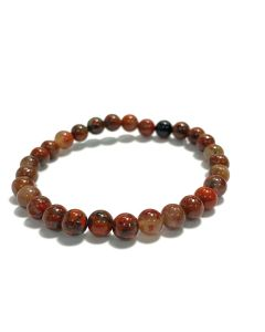 6mm Brecciated Jasper Bead Bracelet (1piece) NETT