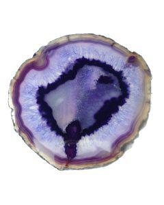 """A8 Agate Slice Purple (6"""" to 7"""") NETT"""