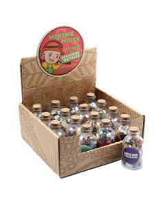 Mining Mike's Mixed Gemstone Bottles Retail Box (16 Piece) NETT