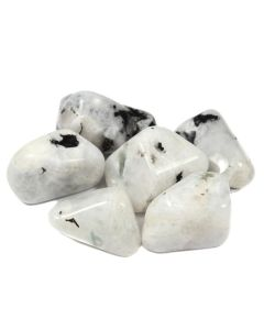 Moonstone Rainbow 30-40mm Large Tumblestone (100g) NETT