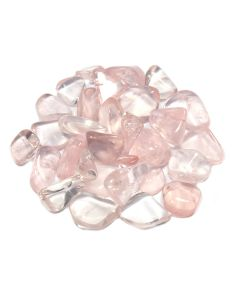 Rose Quartz 1st Quality 10-20mm Small Tumblestone (100g) NETT