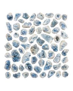 """Celestite Clusters 2-4"""" B Grade  (kg) NETT"""