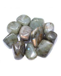 Labradorite 2nd Grade 30-40mm Extra Large Tumblestone (250g) NETT