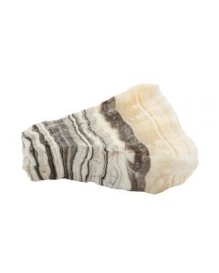 "Zebra Calcite 4-5"" THICK (1pc) NETT"