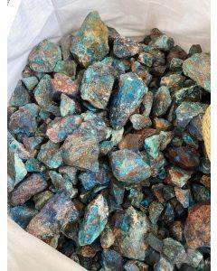 Chrysocolla with Shattuckite 5-15cm (Kongo) (KG) NETT