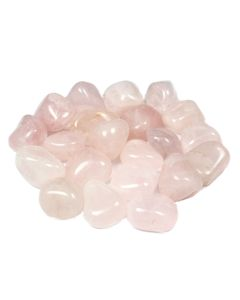 Rose Quartz 2nd Quality 20-30mm Medium Tumblestone Brazil (250g)