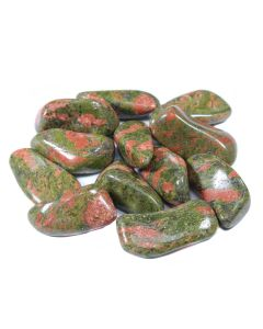 Unakite Tumblestone 40-50mm Extra Large, South African (250g) NETT