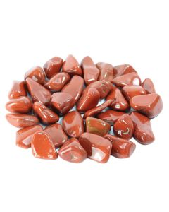 Red Jasper South African Shape 20-30mm Medium Tumblestone (250g) NETT