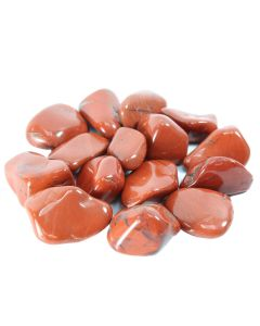 Red Jasper South African Shape 30-40mm Large Tumblestone (250g) NETT