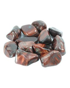 Tiger Eye Red South African Shape 30-50mm Large Tumblestone (250g) NETT