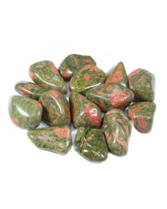 Unakite Tumblestone 30-40mm Large, South African (250g) NETT