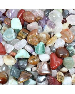 Natural Gem Pit Tumblestone Mix 20-50mm (1kg) NETT