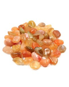 Carnelian River Red 10-20mm Small (SA Shape) Tumblestone (250g)