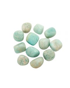 Amazonite Himalayan 10-20mm Small Tumblestone (100g) NETT