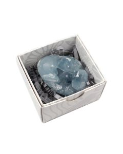 Celestite Druzy Egg 60-70mm (1 Piece) NETT