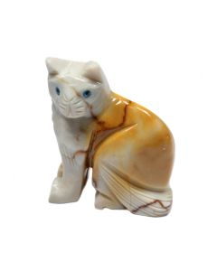 65mm Soapstone Cat (1 Piece)