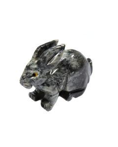 65mm Soapstone Rabbit (1 Piece)