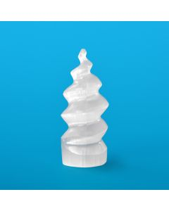 Selenite Unicorn Horn 120mm (1 Piece) NETT