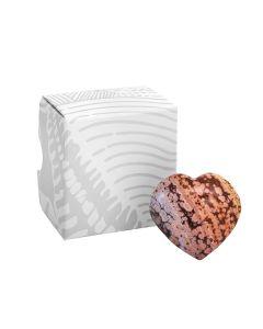 Orbicular Jasper Puff Heart approx. 50mm (1pc) NETT