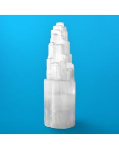 Selenite Mountain Lamp 35cm (Including Electrics) (1 Piece) NETT