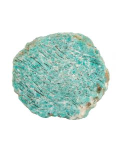 Graphical Amazonite Coaster 80-100mm (1 Piece) NETT