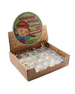 Mining Mike's Treasure of the Earth Retail Box (Magnifier) (20 Piece) NETT