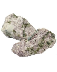 Lepidolite with Albite and Tourmaline (1kg)
