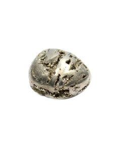 Pyrite Chispa 40-50mm Round Tumblestone (1 Piece) NETT