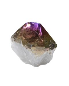 "Titanium Amethyst Aura Cut Base Point 2-3"" (1 Piece) NETT"