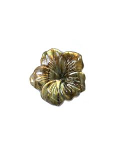 Labradorite Plum Flower 31x30mm (1 Piece) NETT
